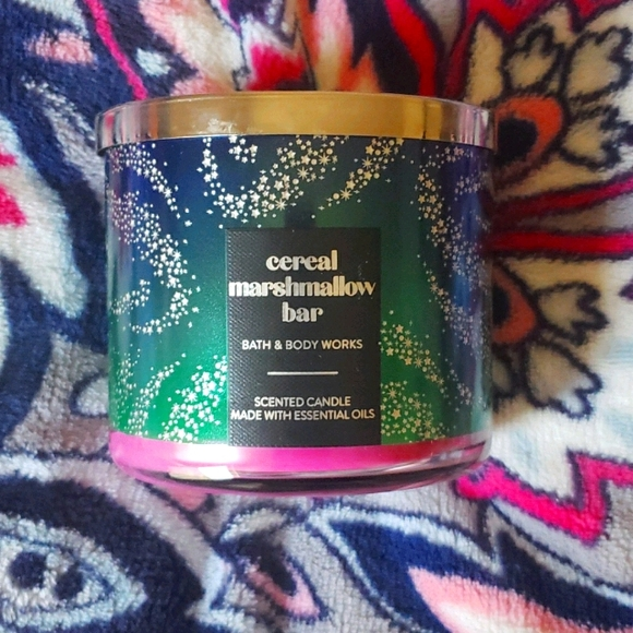 Cereal Marshmallow Bar 3 wick candle